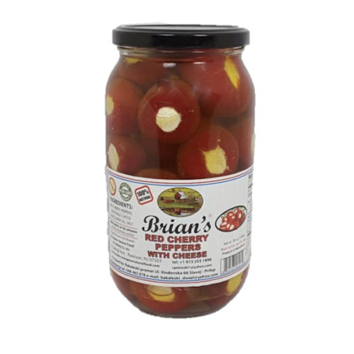 Brian's-Red Cherry Peppers with Cheese