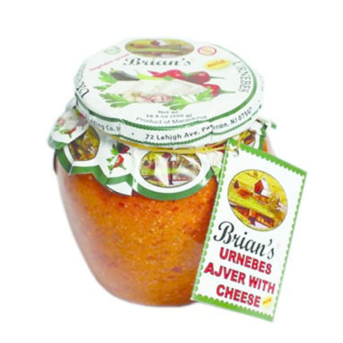 Brians-Urnebes Ajvar with Cheese Hot