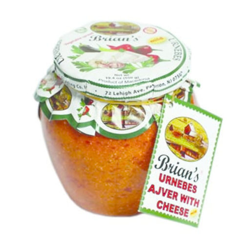 Brian's-Urnebes Ajvar with Cheese Mild