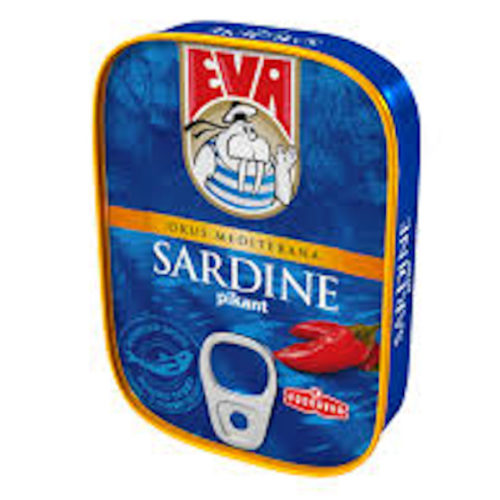 Eva-Sardine in Vegetable oil with Hot Peppers